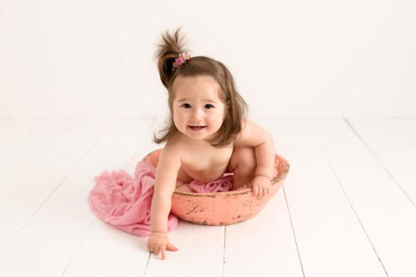 cake smash sitter childrens baby photographer cheshire