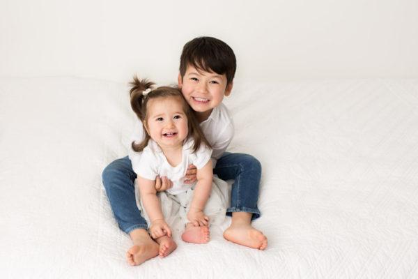 cake smash sitter childrens siblings baby photographer cheshire